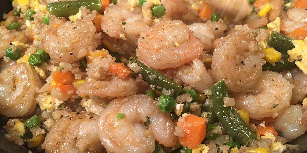 Recipe: Brigida Mack's Shrimp Fried Cauliflower 'Rice'