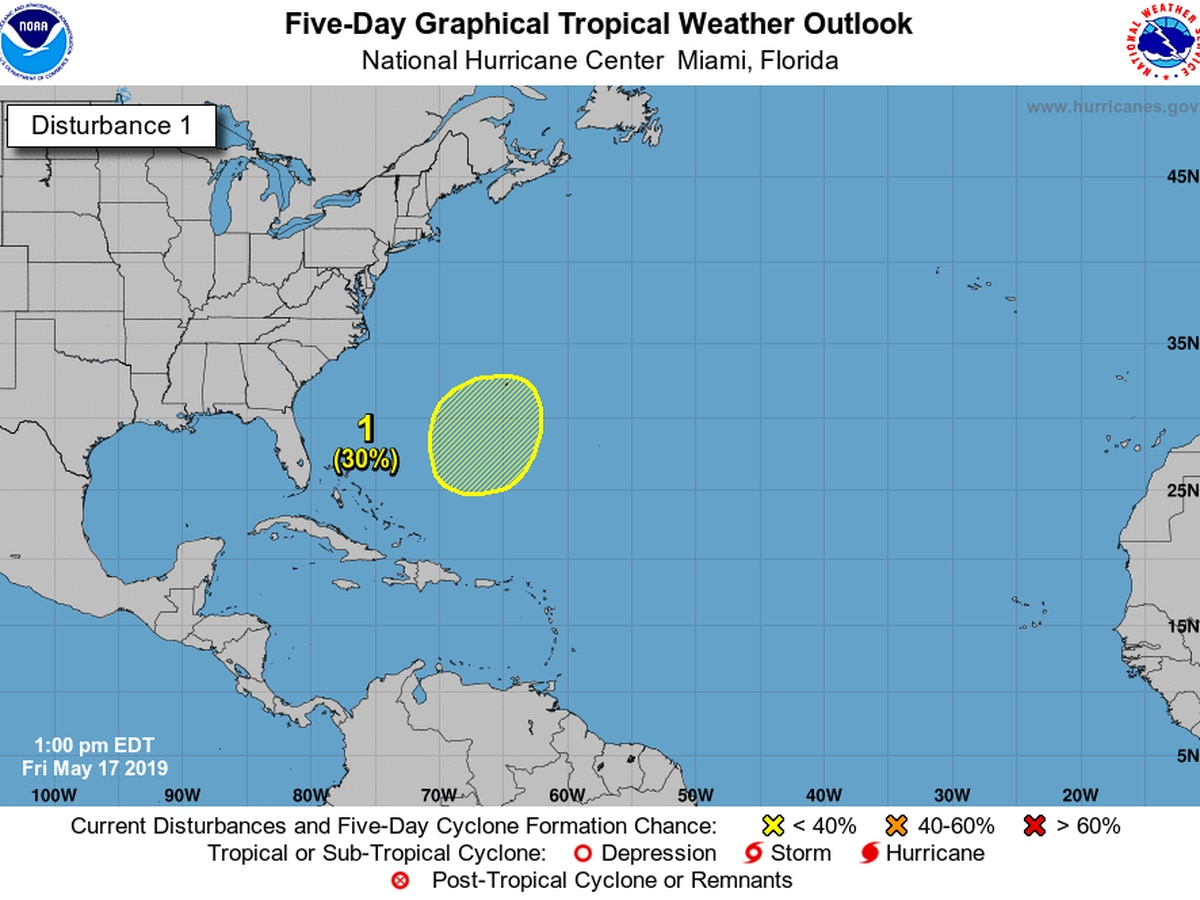 A tropical cyclone is brewing in the Atlantic, but hurricane season has yet to arrive