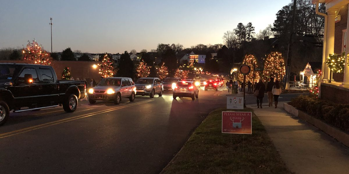First weekend of Christmas Town USA display kicks off with COVID-19 precautions