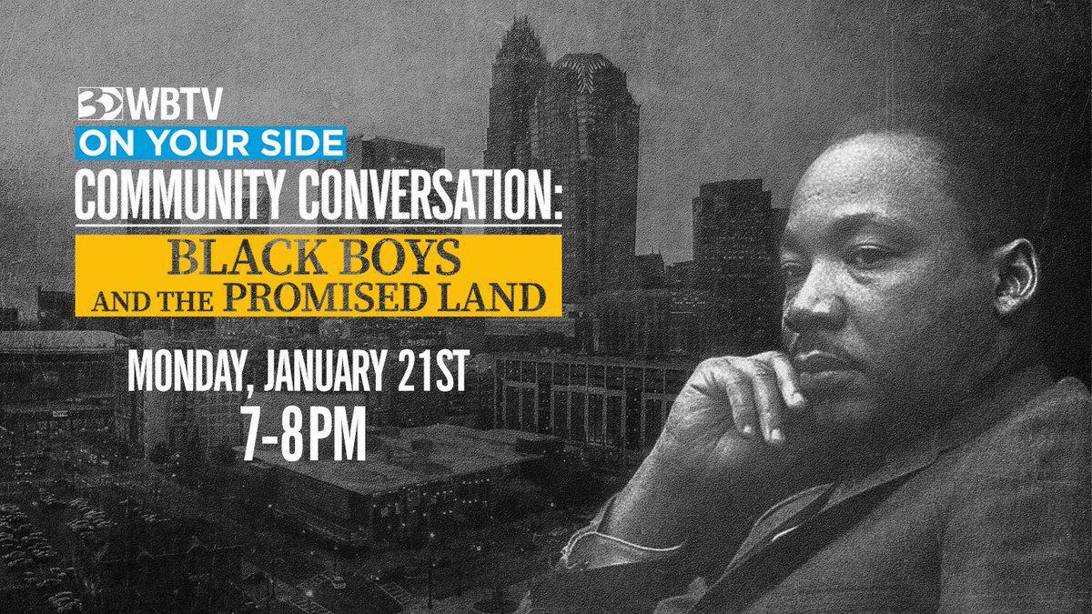 WBTV Community Conversation: Black Boys and the Promised Land