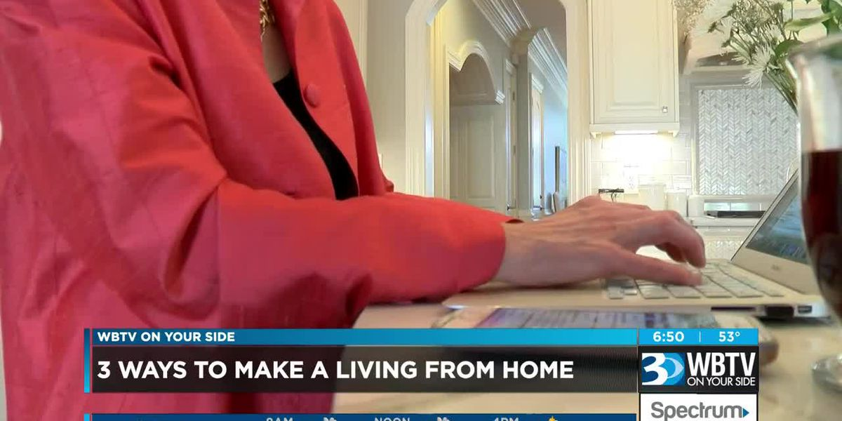 3 ways to make a living without leaving your house