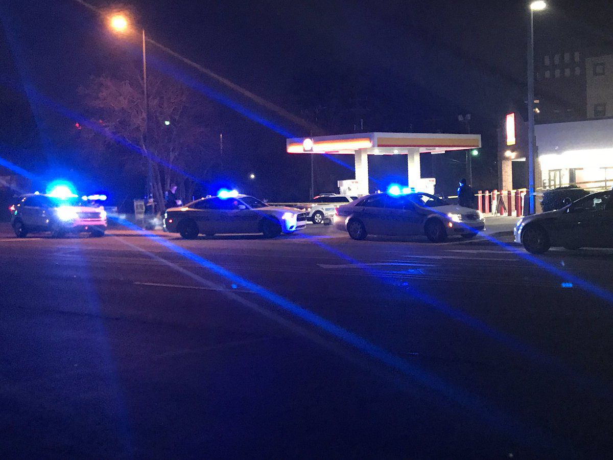 Man rushed to hospital after shooting at apartments in Charlotte
