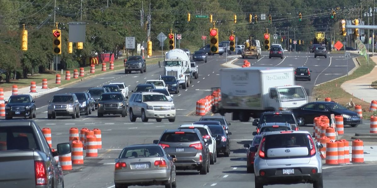 NCDOT working to cut down traffic throughout Charlotte with Continuous Flow Intersections