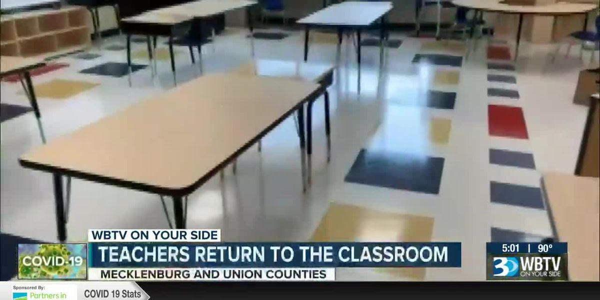 Teachers return to the classroom