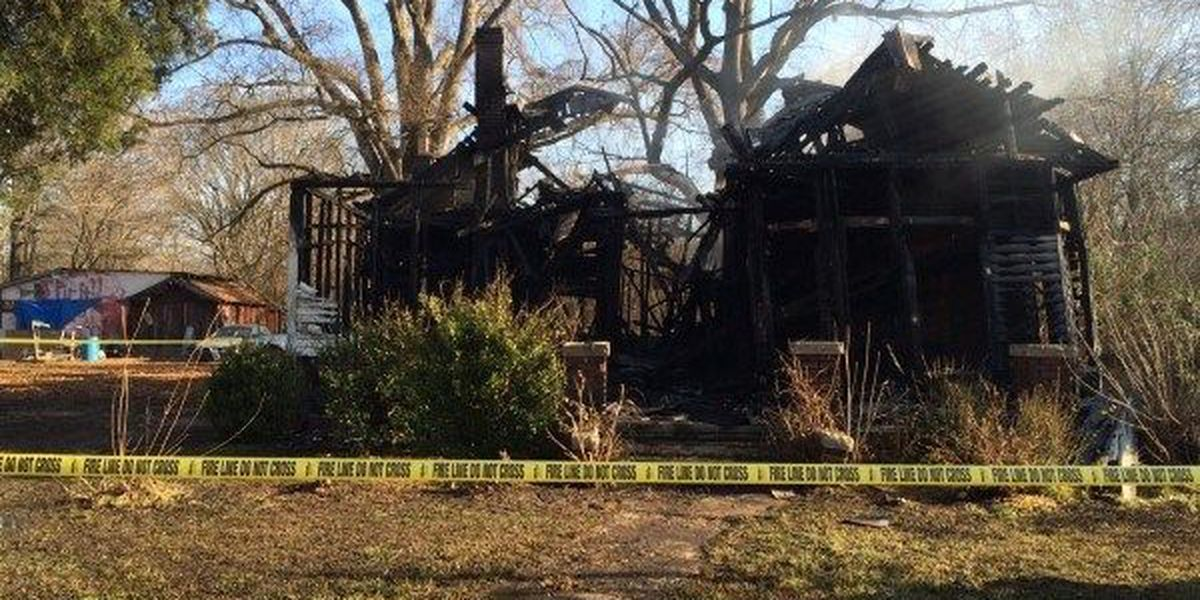 Vacant house in East Spencer destroyed in fire