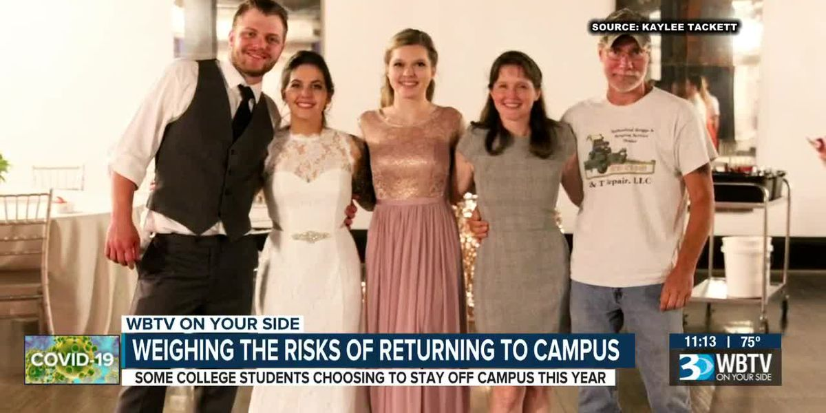 Weighing the risks of returning to campus