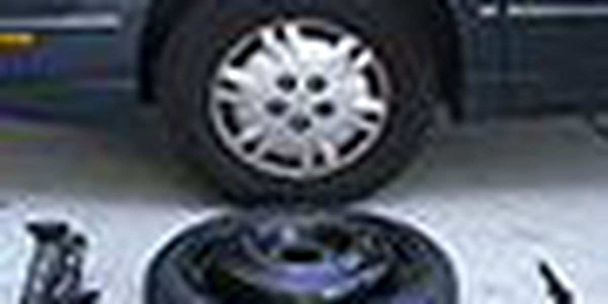 Quickly change a tire with our Toyota of N Charlotte tips!