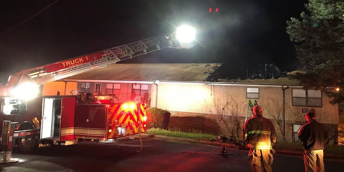 Ten elderly residents displaced due to East Spencer apartment fire