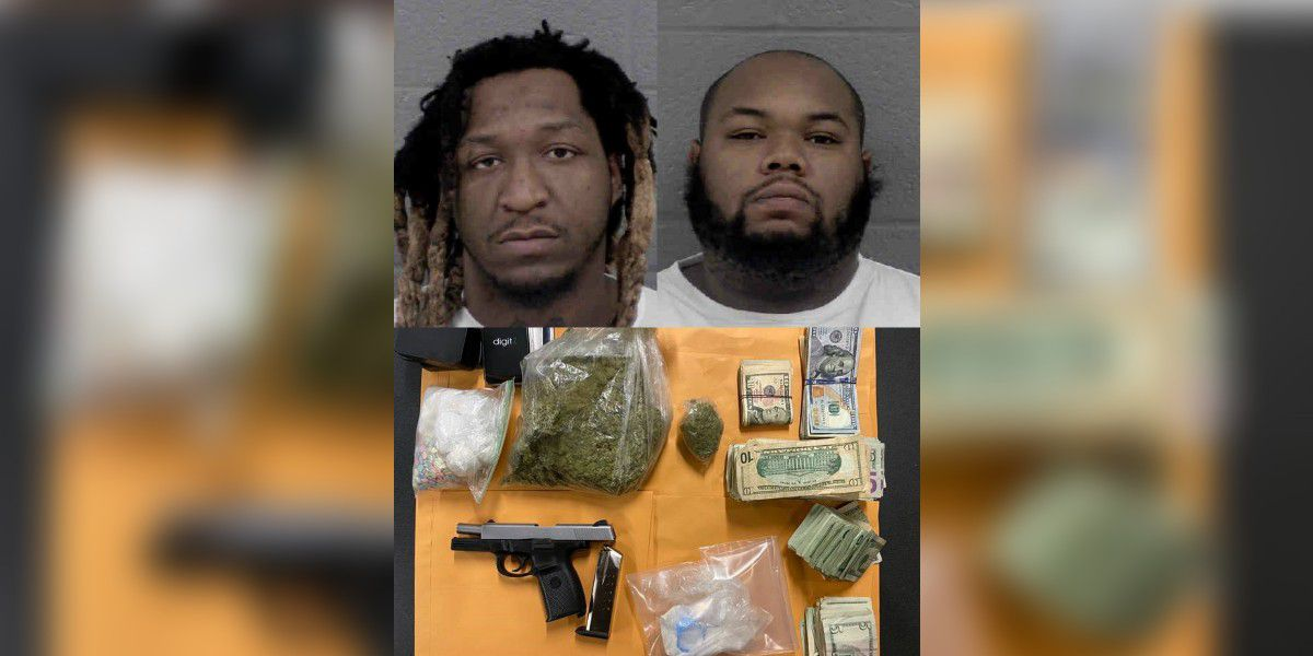 2 arrested as cocaine, ecstasy, marijuana, heroin seized in Charlotte