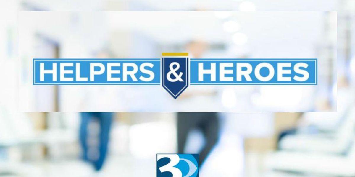 WBTV presents Week 8 of Helpers & Heroes: Charlotte area unites during global pandemic