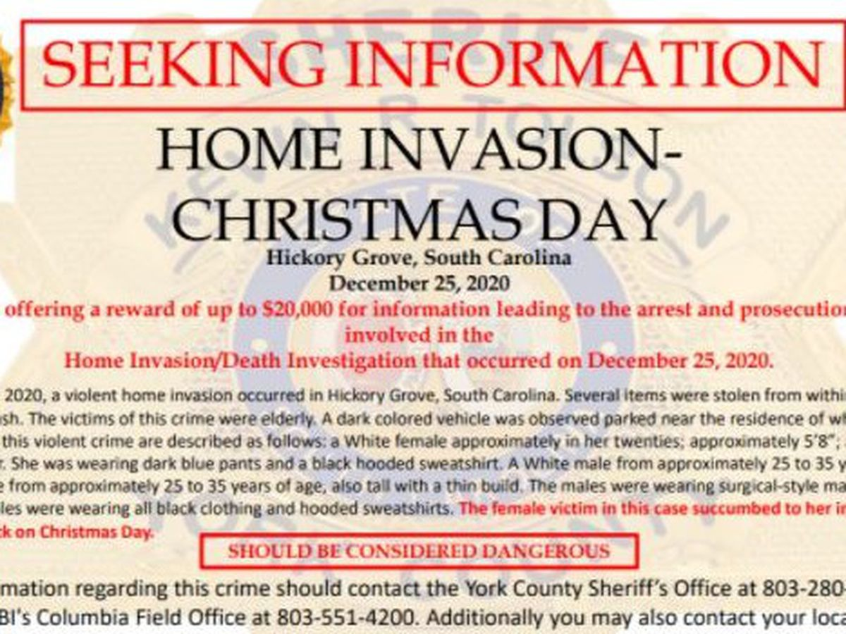 Reward increased to $20K for info in deadly York Co. home invasion on Christmas night