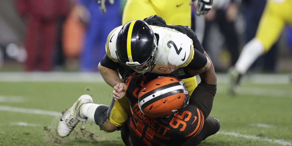 Pittsburgh Steelers QB Mason Rudolph currently facing no suspension for role in Myles Garrett altercation