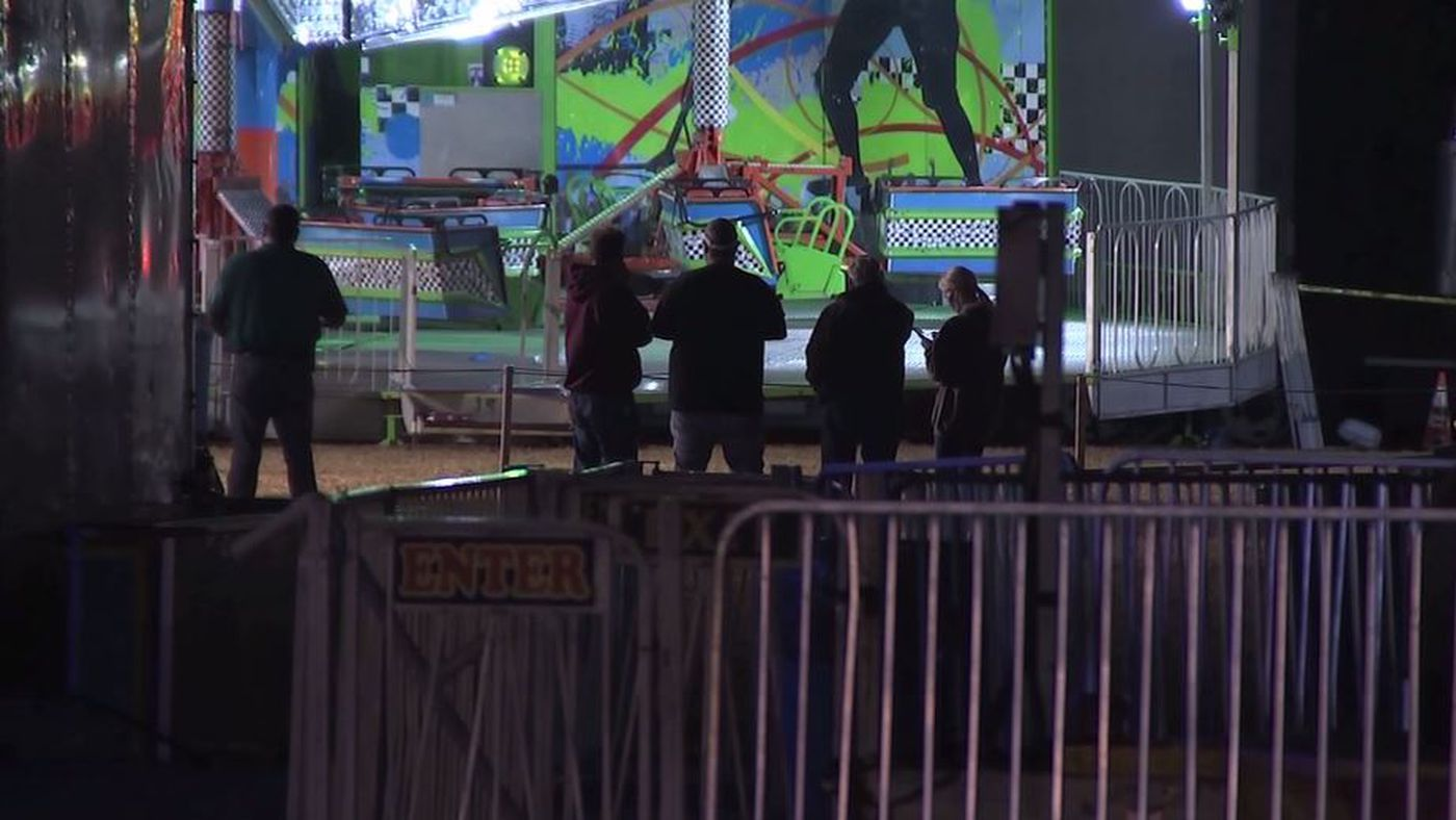 Girl, 10, dies after being flung from N.J. festival ride