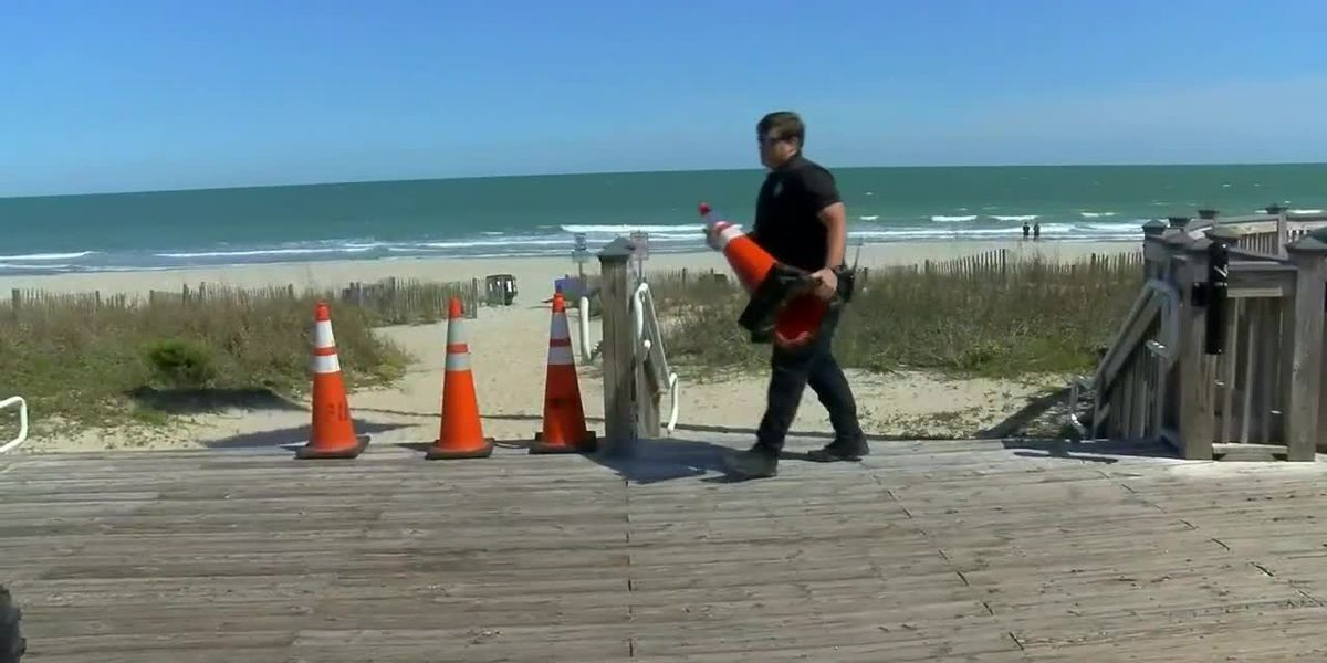 Myrtle Beach City Council approves reopening of public beach accesses
