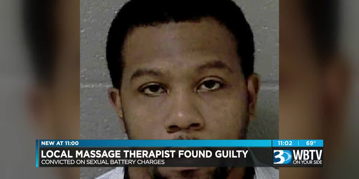 Charlotte massage therapist accused of inappropriately touching woman found guilty