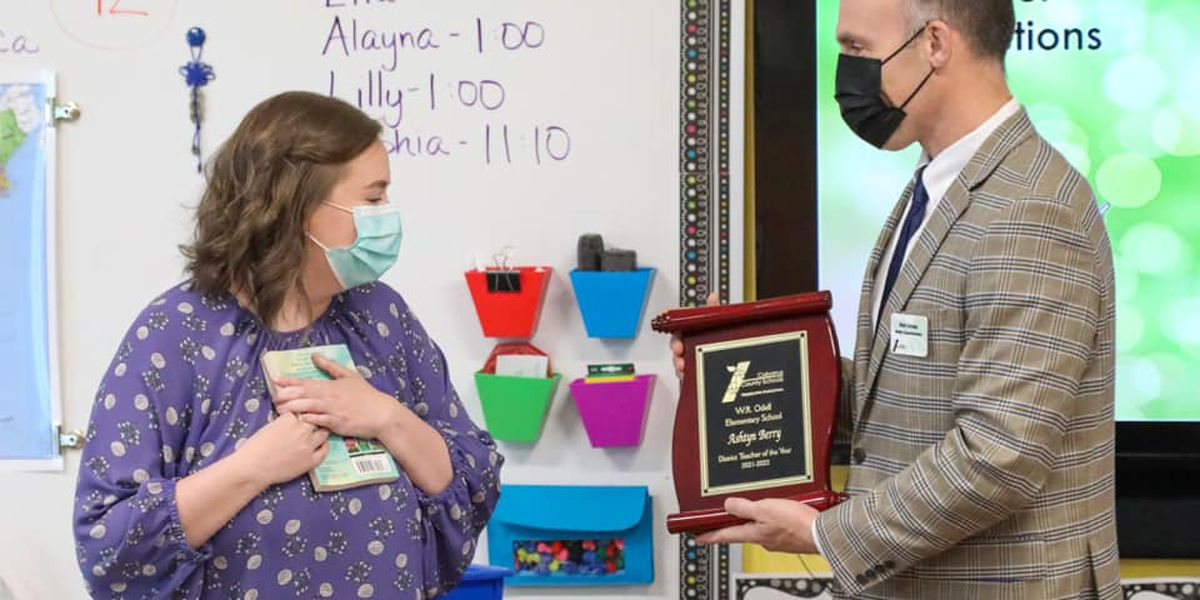 Ashtyn Berry named Cabarrus County Schools Teacher of the Year