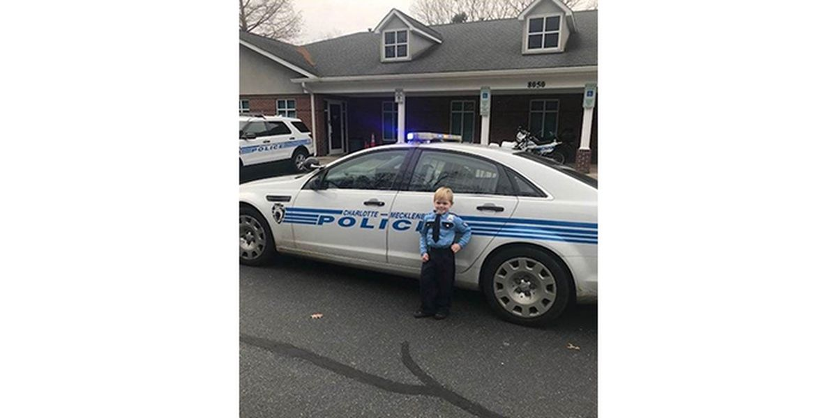 Future officer learns the ropes at CMPD