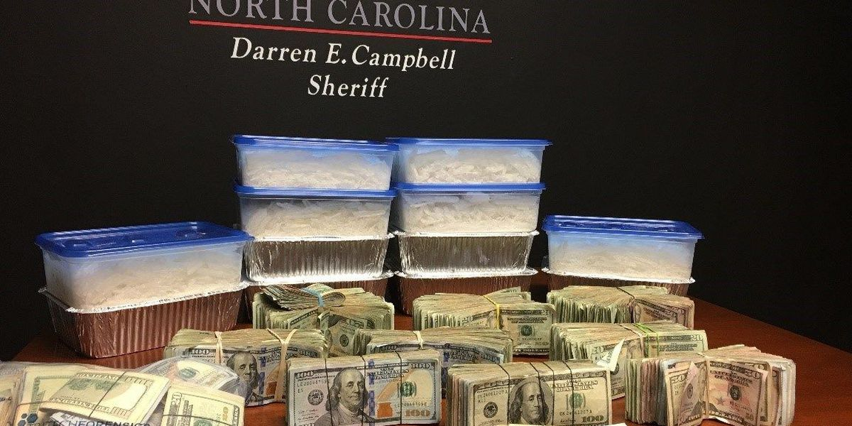 Four arrested, charged with multiple felony drug charges in Iredell Co.