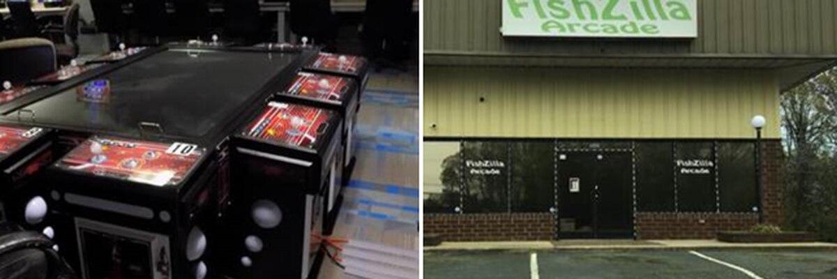 Sheriff seizes gambling equipment from Salisbury fish arcade