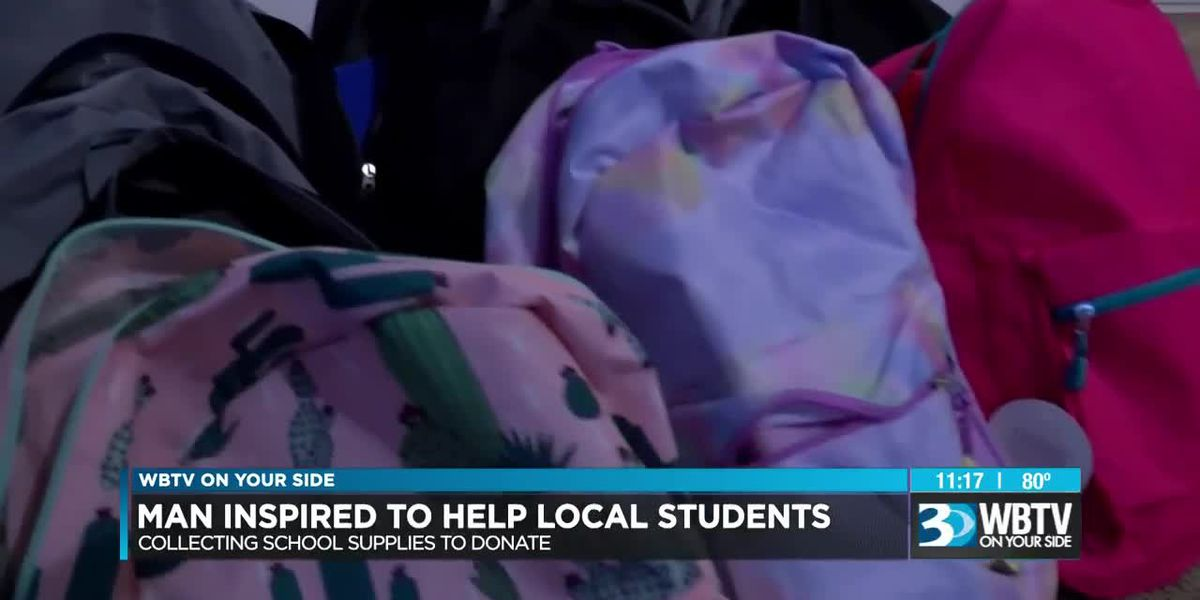20-year-old Monroe man donates school supplies directly to families in need