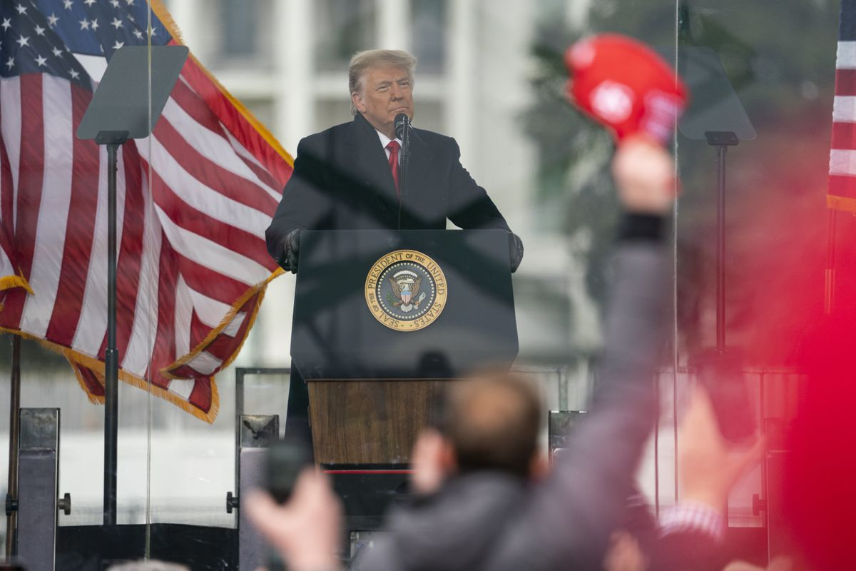 Democrats prepare 'insurrection incitement' impeachment charge against Trump