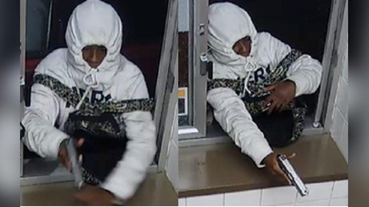 Police seek help finding man who robbed McDonald's drive-thru at gunpoint