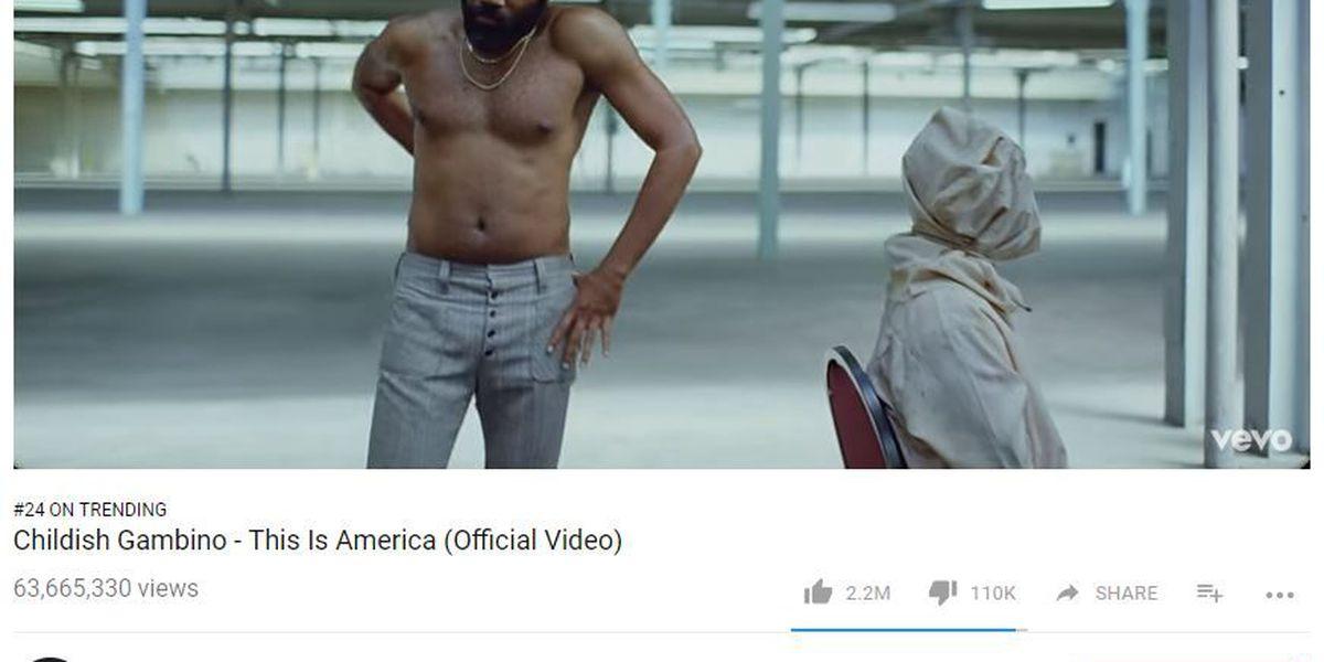 "Childish Gambino's ""This is America"" video tackles gun violence, racism"
