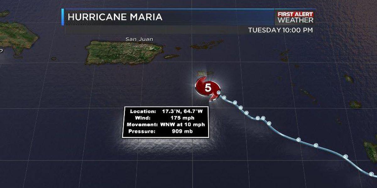 FIRST ALERT: Eye of Hurricane Maria getting dangerously close to St Croix