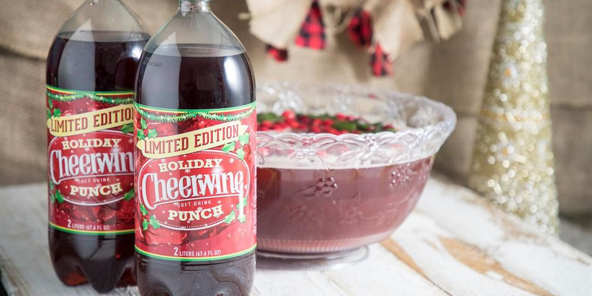Cheerwine Punch available for limited time through the holiday season