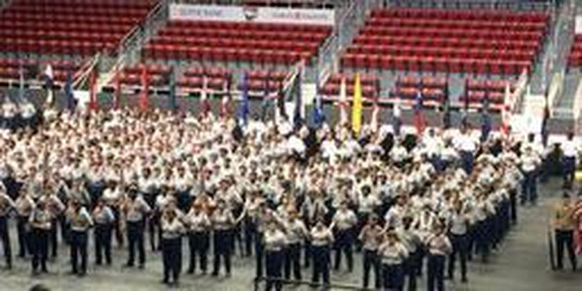 CMS JROTC students recognized at Cadet Achievement Ceremony
