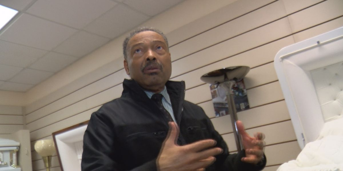 Funeral home owner speaks about impact of COVID-19 pandemic on business