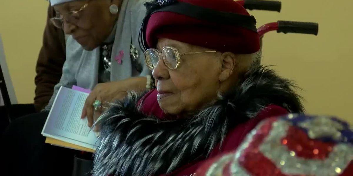 Birmingham woman celebrates 110th Birthday