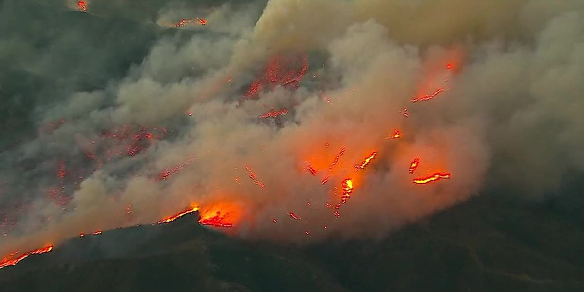 New fire sparks in southern California