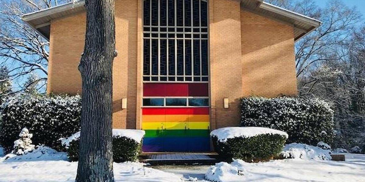 Unity vigil held at south Charlotte Church after vandalism
