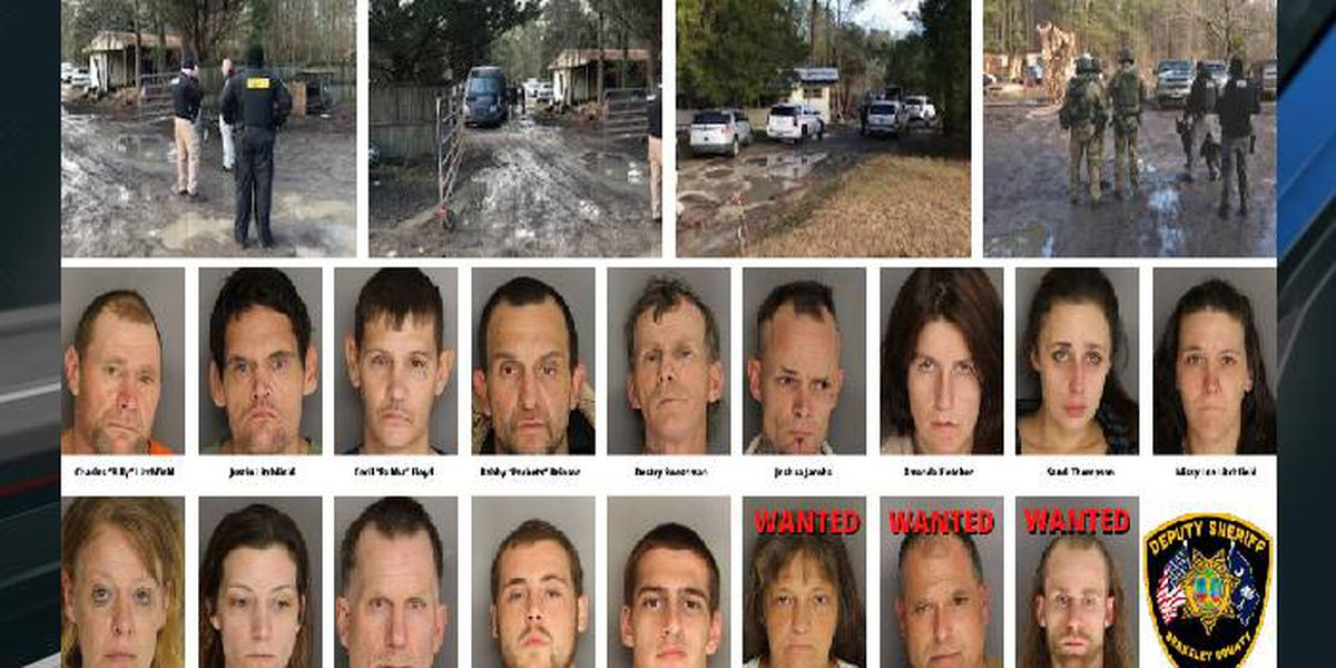 Berkeley deputies arrest 14 after six-month narcotics investigation