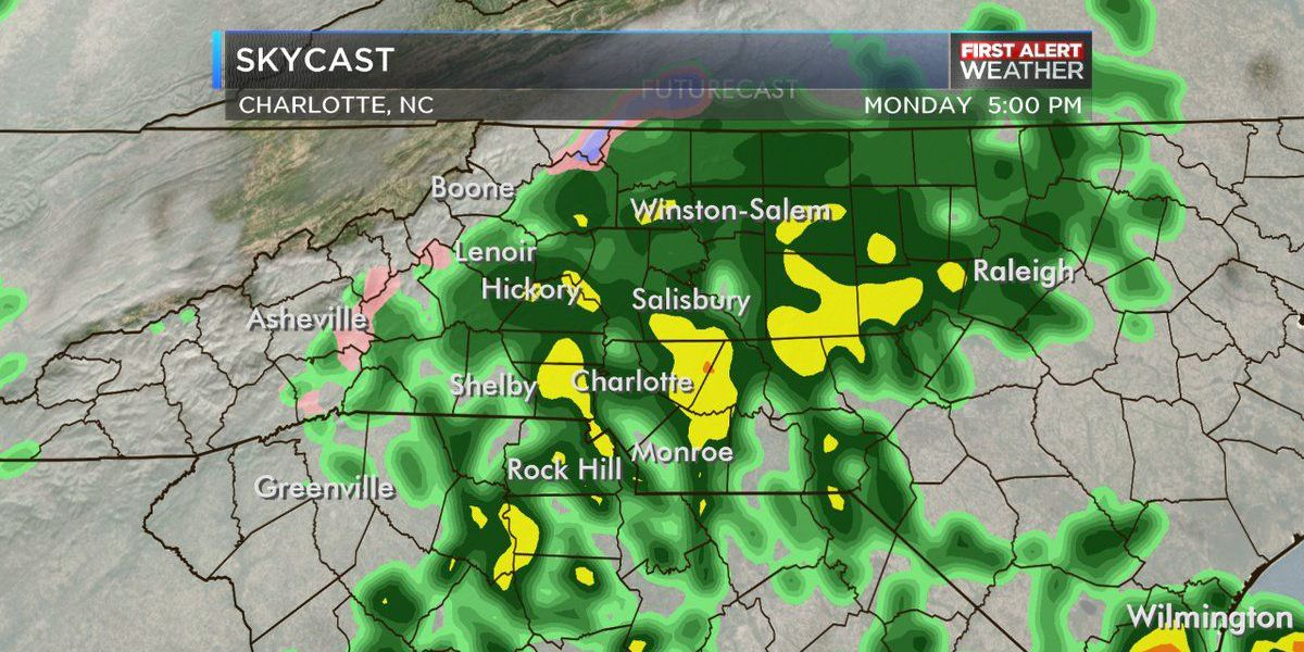 FIRST ALERT: Freeze Warning in place, rain moves in later