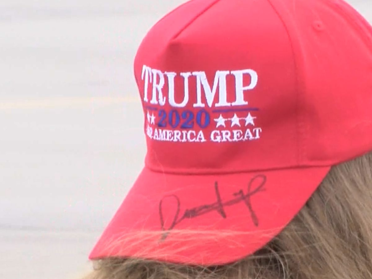 Criminal investigation underway after Trump hats auctioned off at political fundraiser