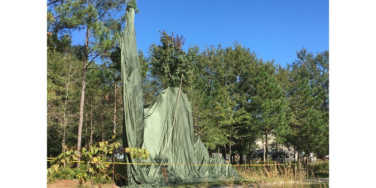 Joint Base Charleston C-17 accidentally drops Humvee on North Carolina town
