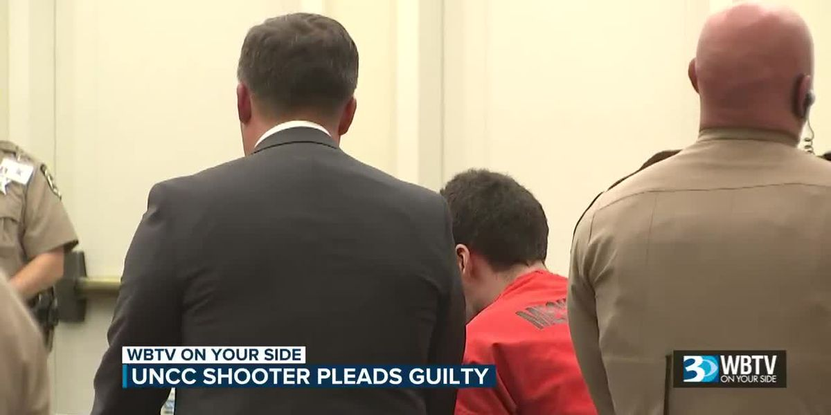 UNC Charlotte shooter gets consecutive life sentences after pleading guilty to murder