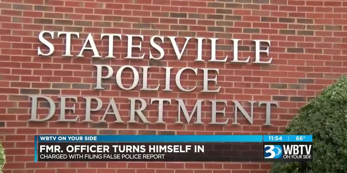 Ex-officer accused lying about stolen cruiser turns self in