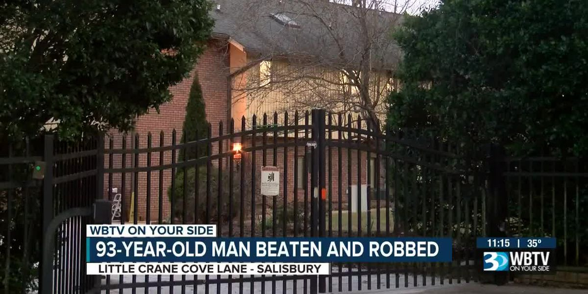 93-year-old man beaten and robbed