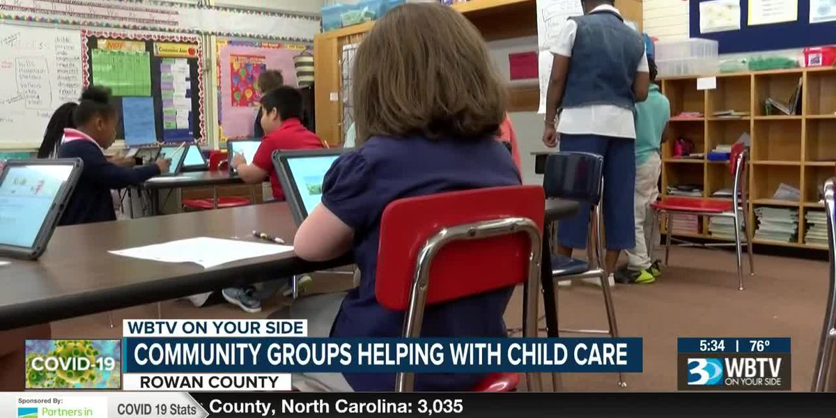 Community groups helping with child care in Rowan County