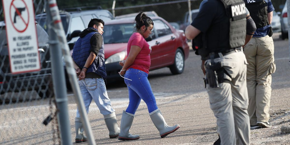 680 people detained in largest single-state worksite enforcement operation in nation's history