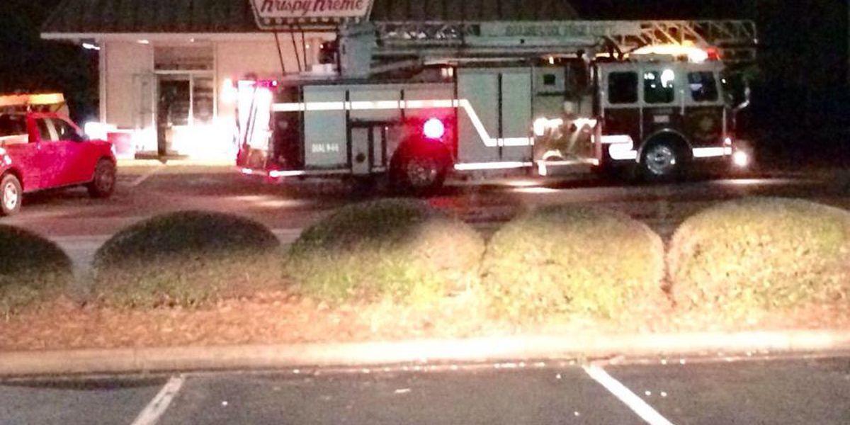 Fire closes Salisbury Krispy Kreme, should reopen today