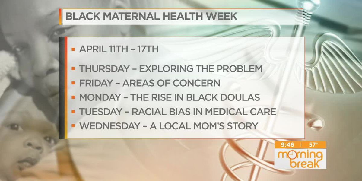 Black Maternal Health Week