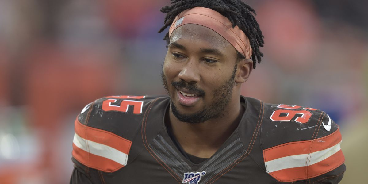 Myles Garrett speaks out for the first time on Twitter since his indefinite suspension was upheld in November