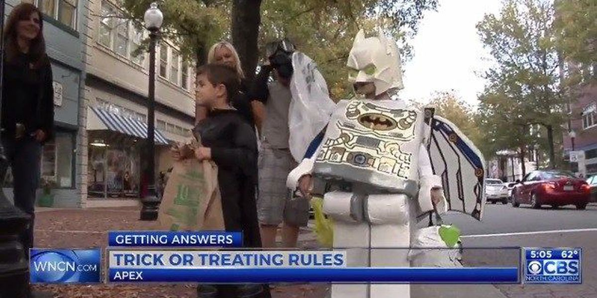 A NC town has a law that bans trick-or-treaters over 12
