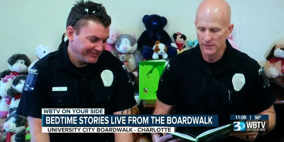 CMPD to read bedtime stories to local children spending days at home