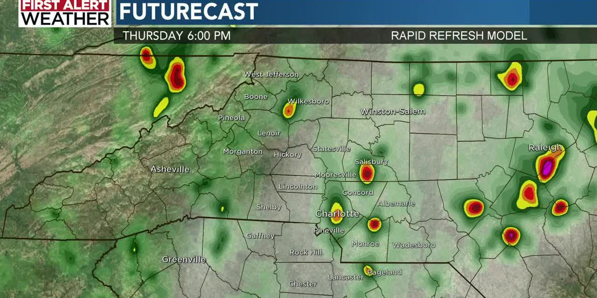 First Alert Forecast: Thursday, May 28 @12pm