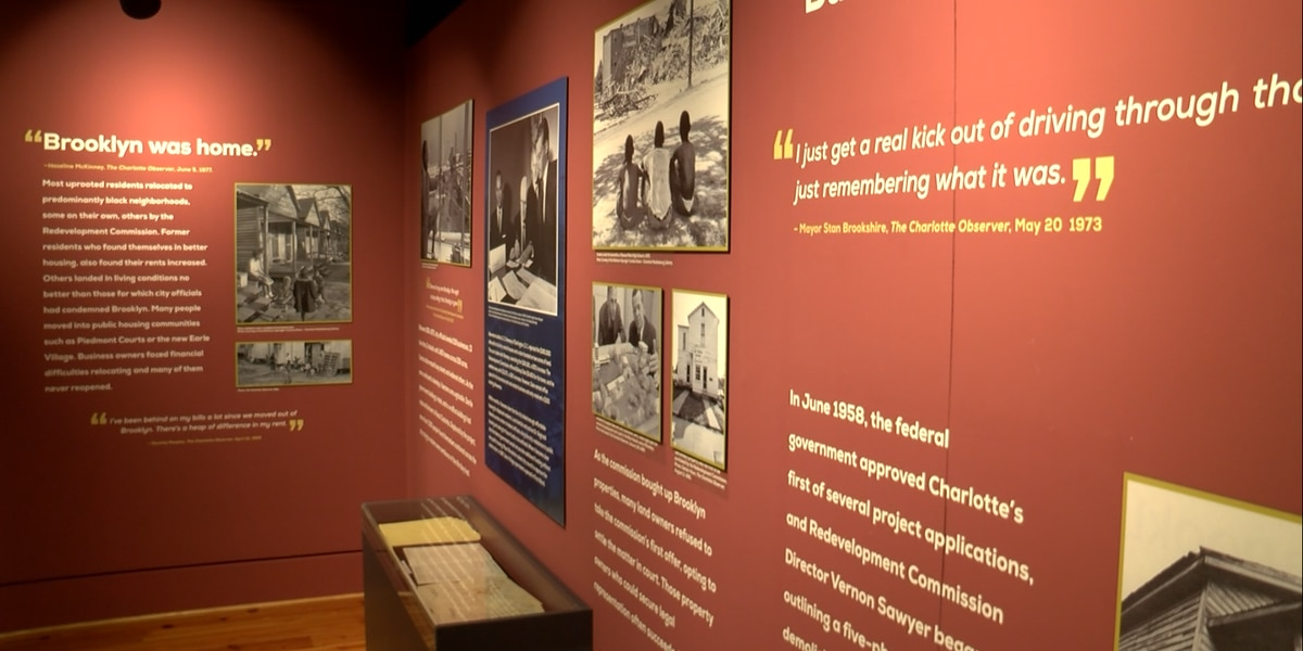 'Brooklyn: Once a City Within a City' Museum exhibit tells story of historic Charlotte neighborhood